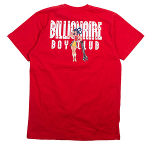 Billionaire Boys Club Red Racing Girl T-Shirt
