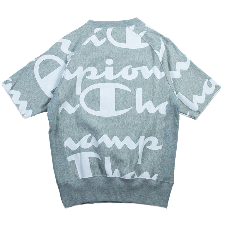 Champion Reverse Weave Grey Short Sleeve Crew