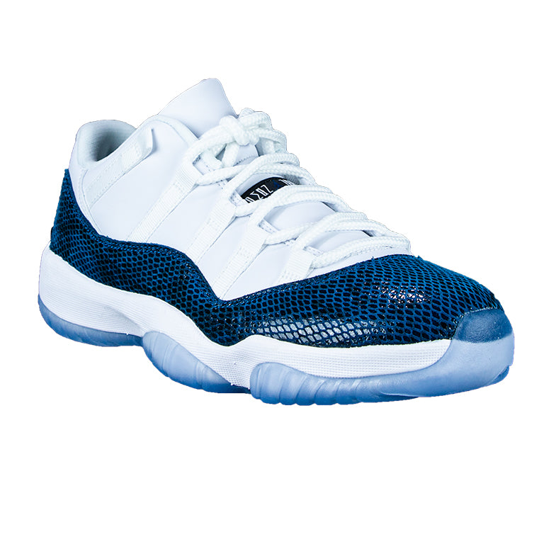 Air Jordan 11 Retro Low Snakeskin Navy
