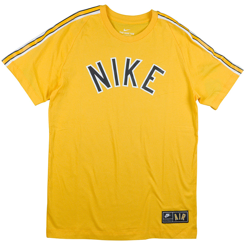 Nike Air Men's Yellow T-Shirt