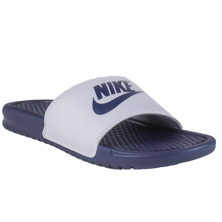 Nike Benassi JDI Slide Grey/Navy