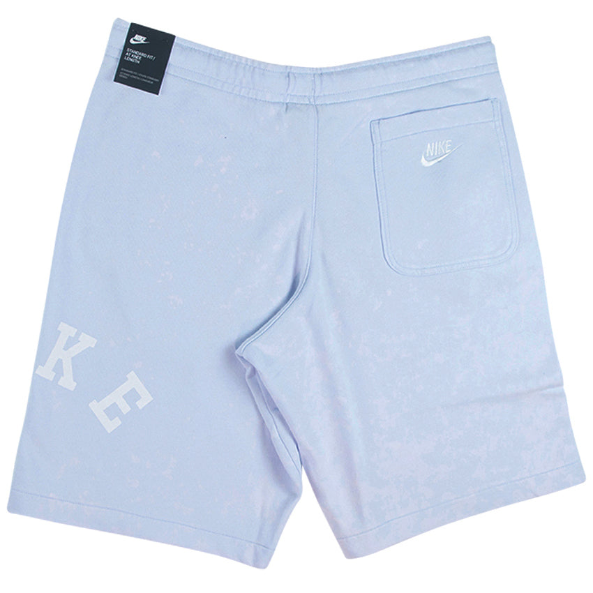Nike Sportswear Blue French Terry Shorts