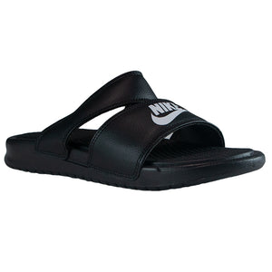 Nike Women's Black Benassi Duo Ultra Slide