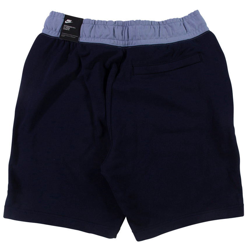 Nike Mens NSW Blue/Navy Fleece Shorts