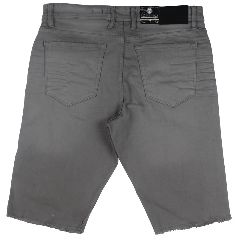Jordan Craig Light Grey Memphis Twill Shorts