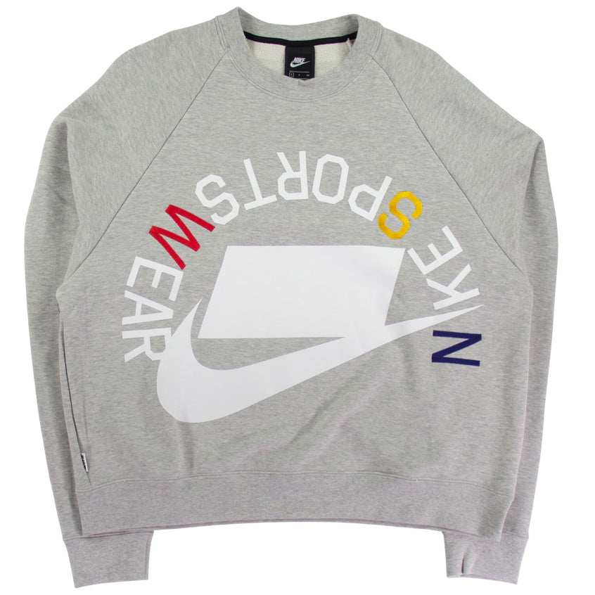 Nike Sportswear NSW Grey French Terry Crew