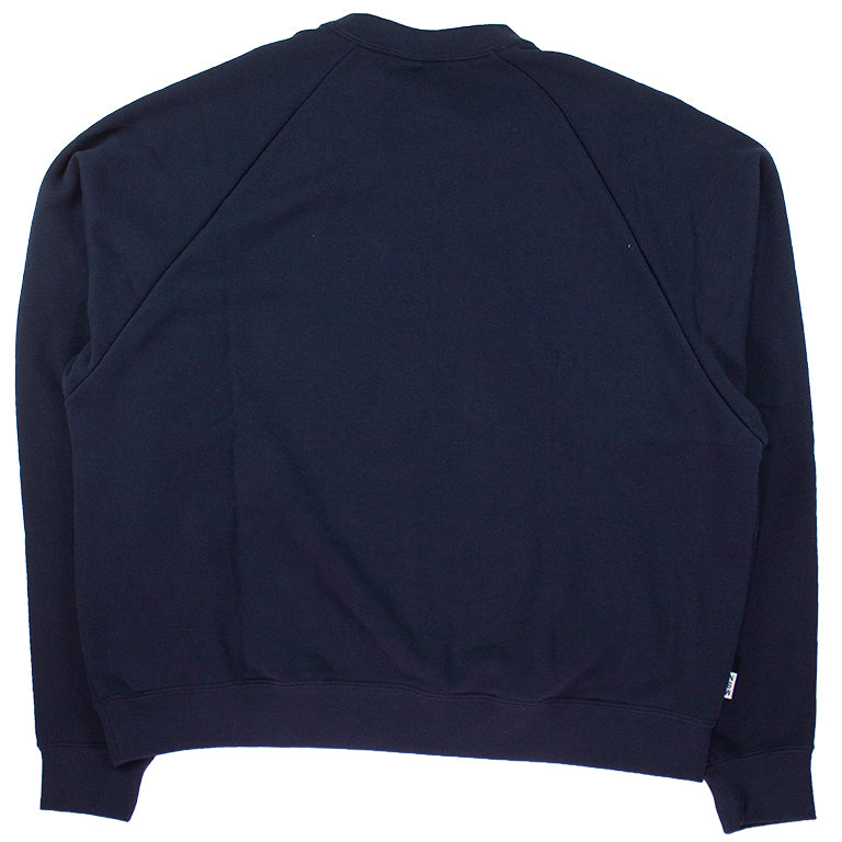 Nike Sportswear NSW Dark Blue French Terry Crew