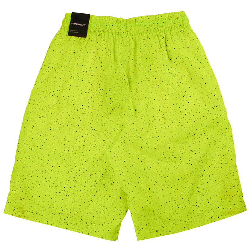 Air Jordan Yellow Jumpman Poolside Cement Shorts