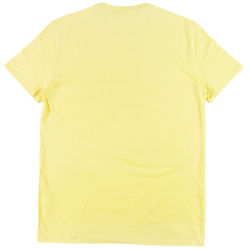 Lacoste Yellow Pima Cotton Jersey T-Shirt