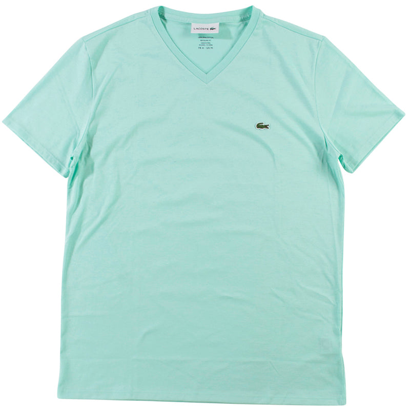 Lacoste Light Green Pima Cotton Jersey T-Shirt