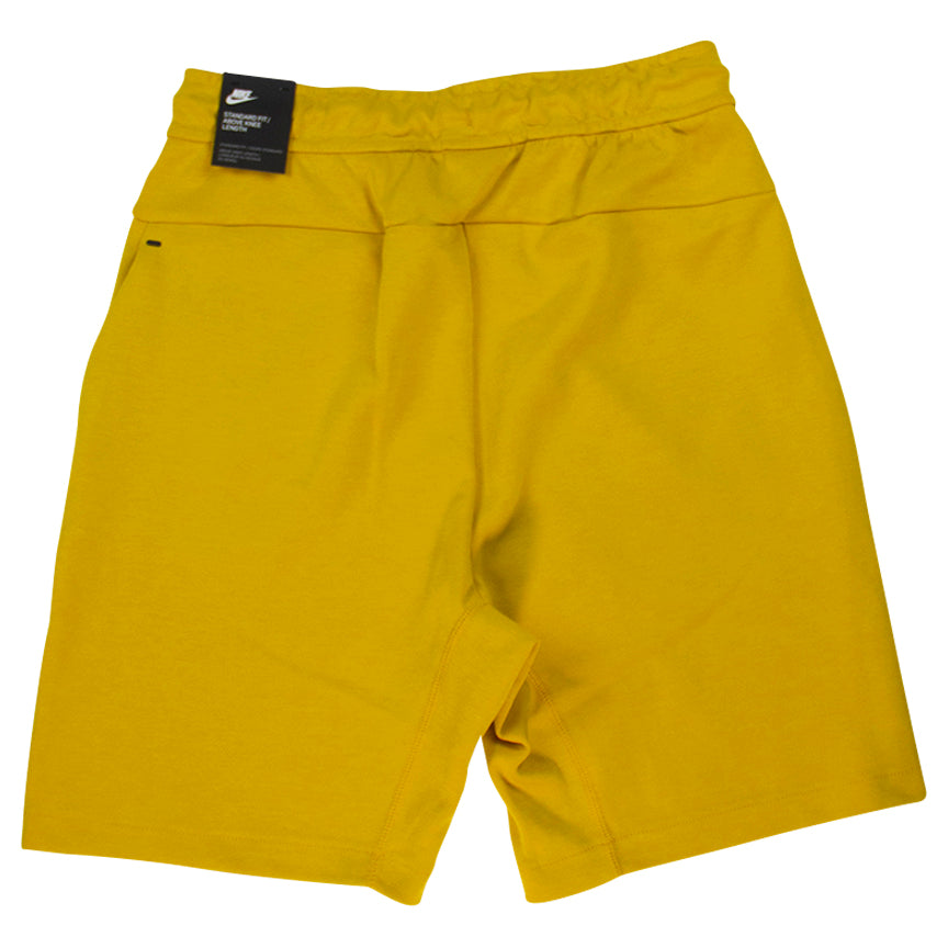 Nike Sportswear Tech Yellow Fleece Shorts