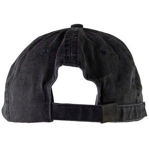Addictive Reckless Buckle Back Grey Hat