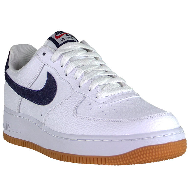 timeless design d2546 18c1a Nike Air Force 1 '07 Low Gum White/Navy