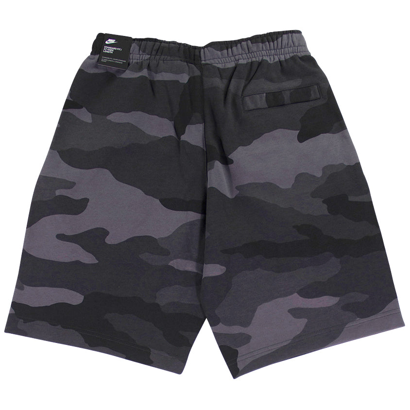 Nike Sportswear Club Fleece Grey Camo Shorts