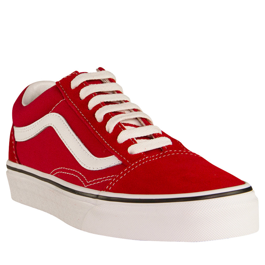 Vans Red Canvas Old Skool