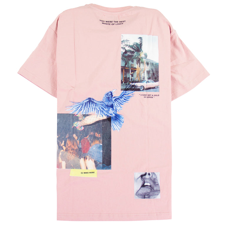Lifted Anchors Pink Gallery T-Shirt