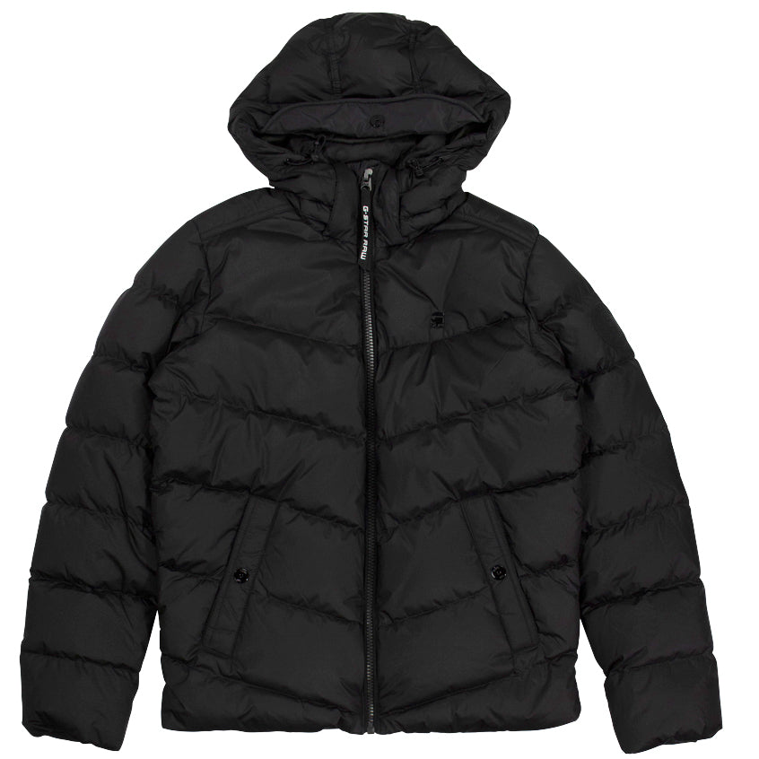 G-Star Raw Whistler Black Down Puffer Coat