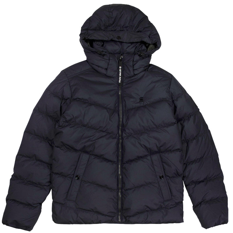 G-Star Raw Whistler Navy Down Puffer Coat