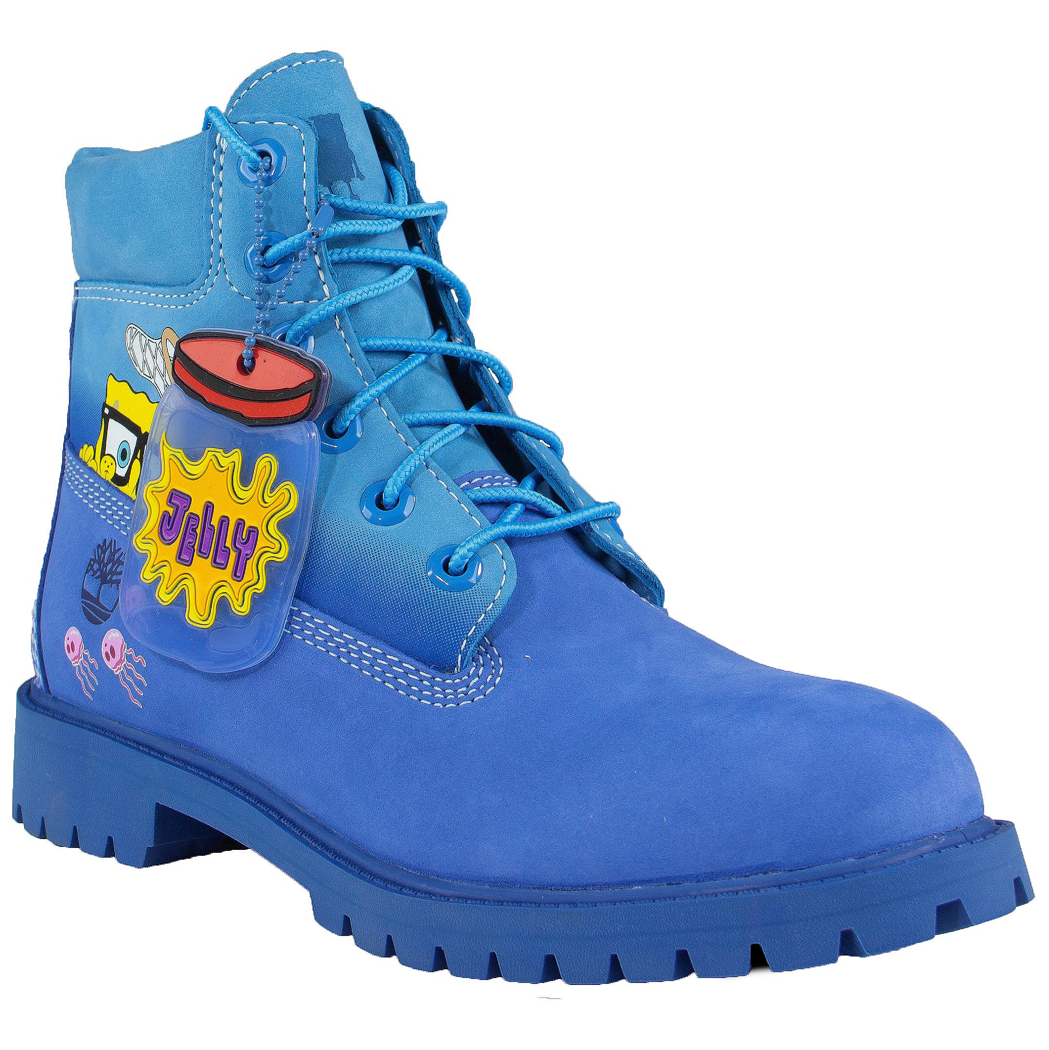 Timberland x SpongeBob Kid's 6 inch Boots (GS) 'Bright Blue'