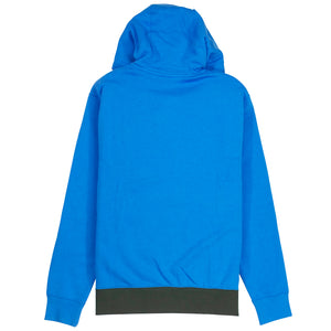 Nike NSW Club Fleece Half-Zip Blue Hoodie