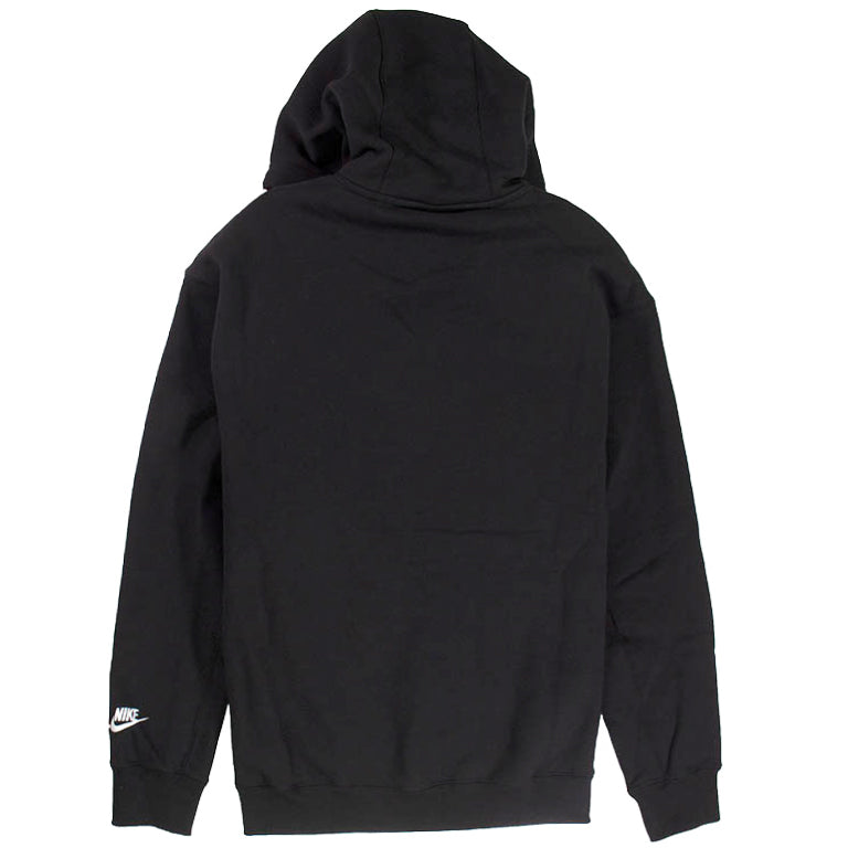 Nike Sportswear Black 'Just Do It' Pullover Hoodie