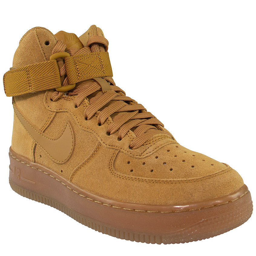 Nike Air Force 1 High LV8 3 (GS) 'Wheat'
