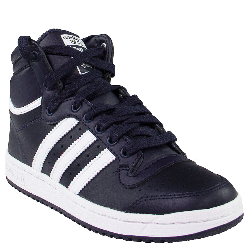 Adidas Originals Kids' Navy Top Ten Hi