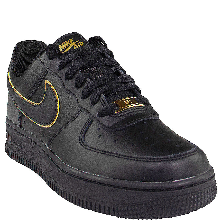 Nike Women's Air Force 1 '07 Essential 'Black/Gold'
