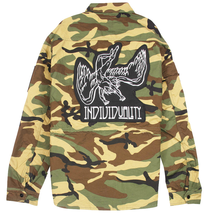 Cult Of Individuality Camo Platoon Shirt