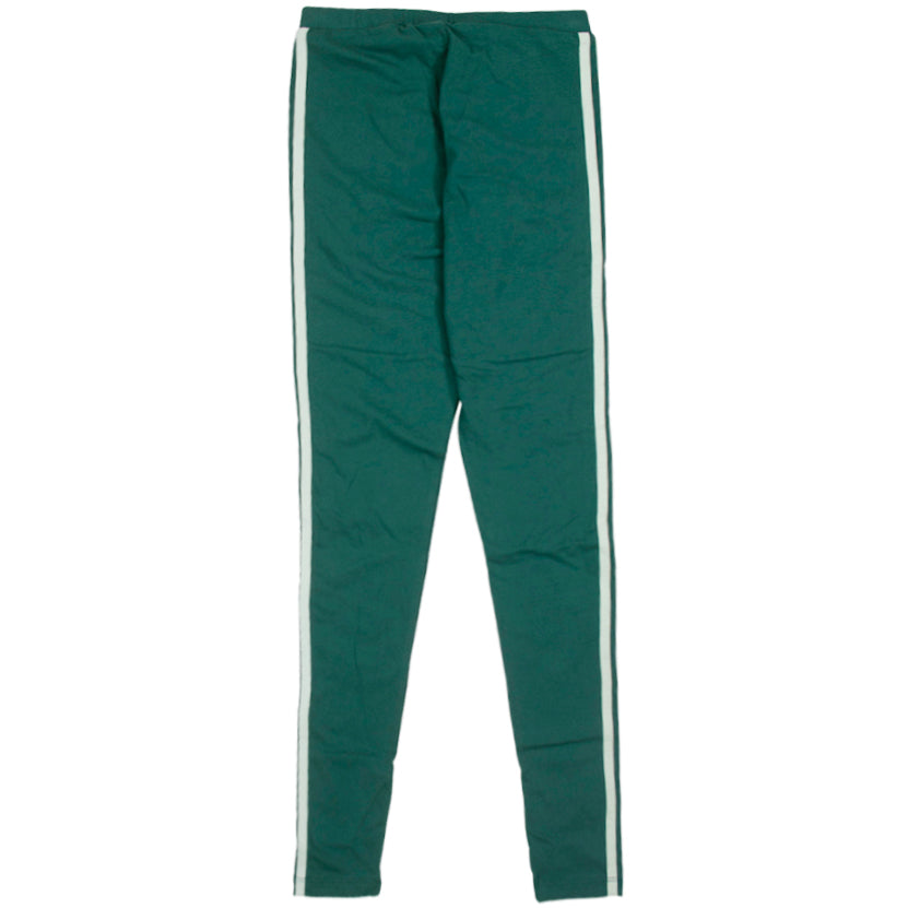 Adidas 3-Stripes Green Leggings