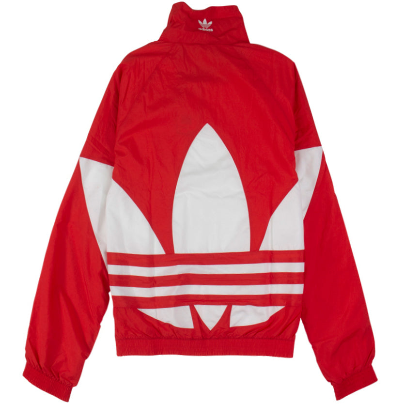 Adidas Big Trefoil Red Track Jacket