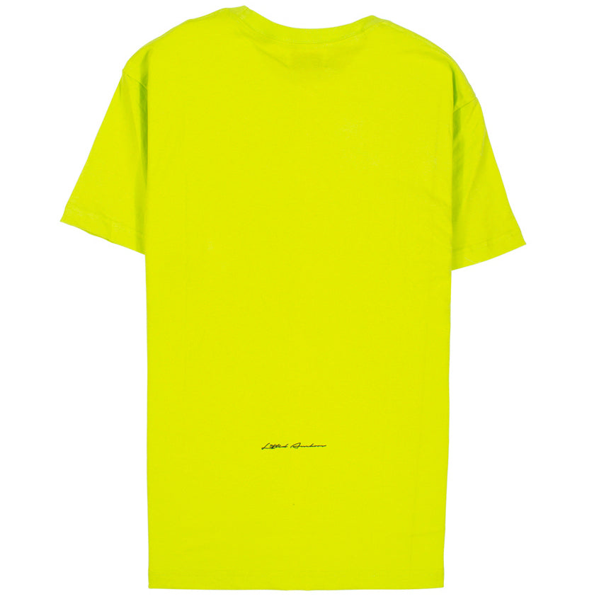 Lifted Anchors 'Peace' Lime T-Shirt