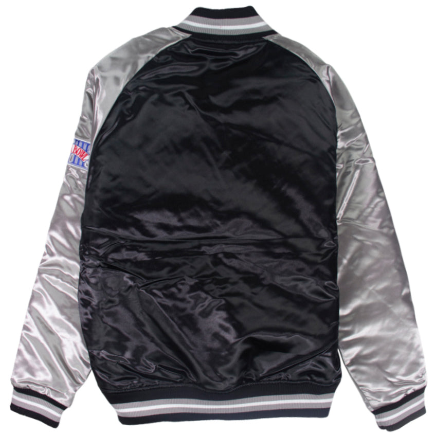 Mitchell & Ness NFL Tough Season Satin Jacket Oakland Raiders