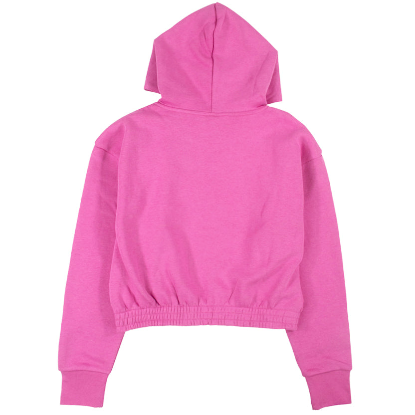 Nike Women's NSW Icon Clash Pink Fleece Hoodie