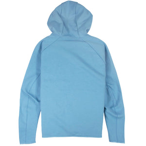 Nike Tech Fleece Full-Zip Blue Hoodie