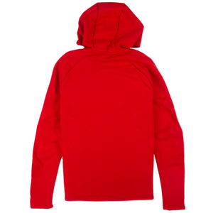 Nike Tech Fleece Full Zip Red Hoodie