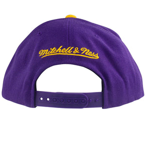 Mitchell & Ness NBA Los Angeles Lakers Wool 2 Tone Snapback