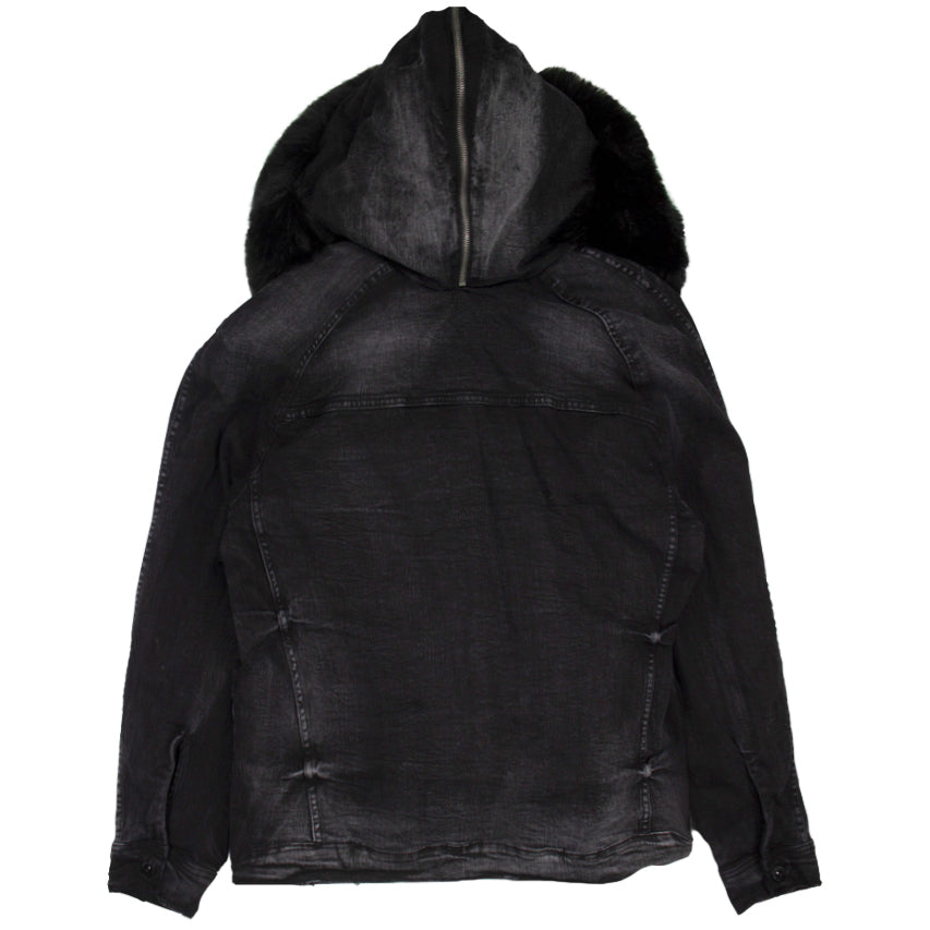 Jordan Craig Black Durango Hooded Denim Jacket