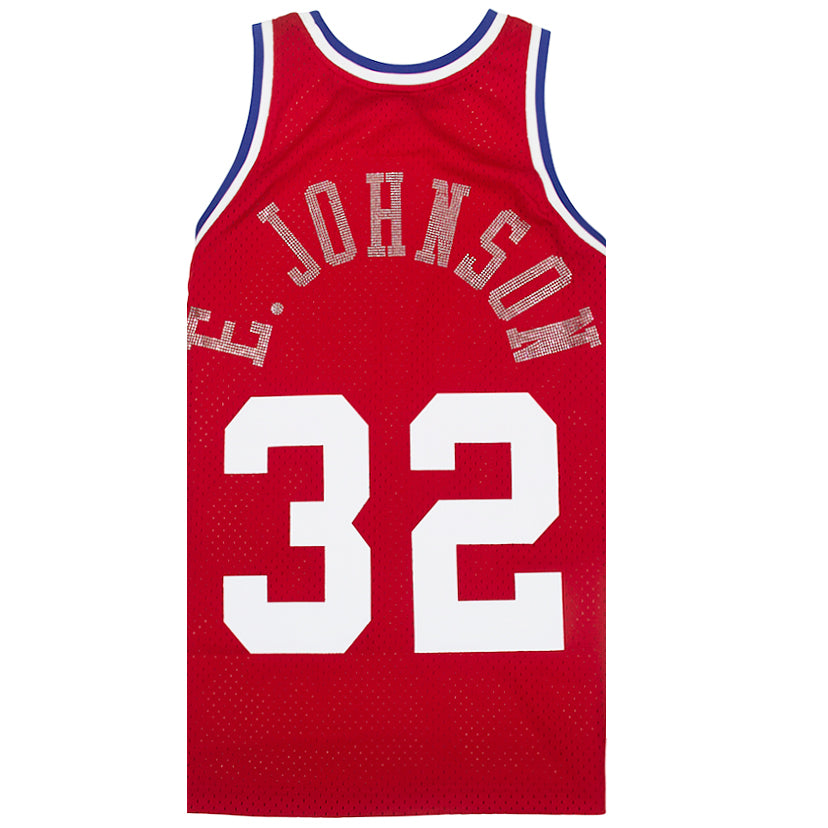 Mitchell & Ness Rhinestone Swingman Jersey All-Star West 1988 Magic Johnson