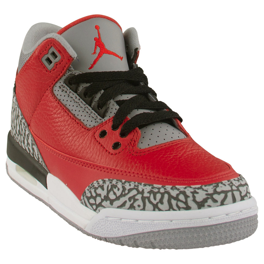 Air Jordan 3 Retro SE (GS) 'Red Cement'