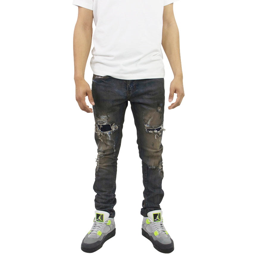 Embellish Rivers Standard Dirty Indigo Wash Jeans