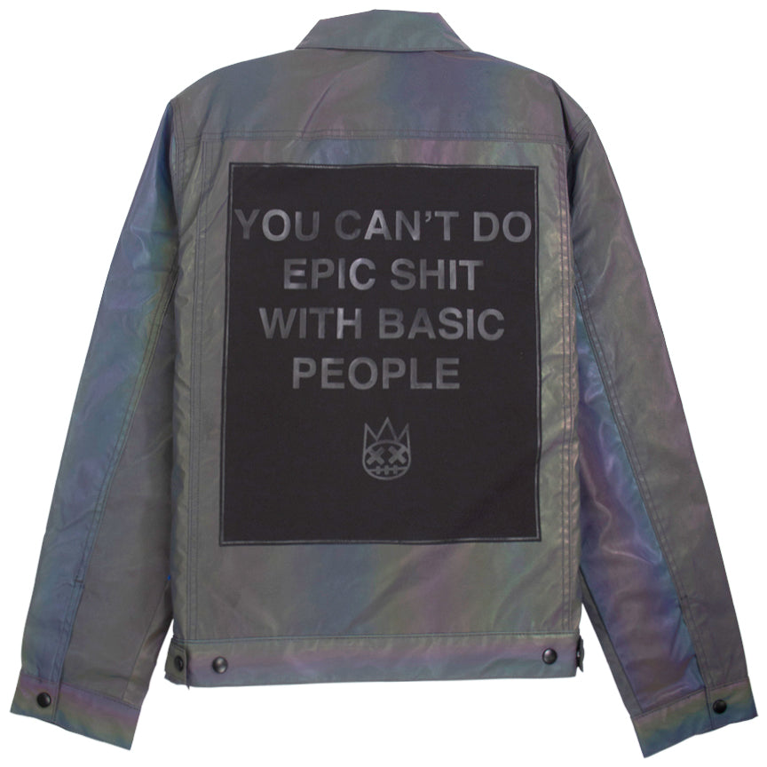 Cult Of Individuality Irredescent Type II Reversible Denim Jacket