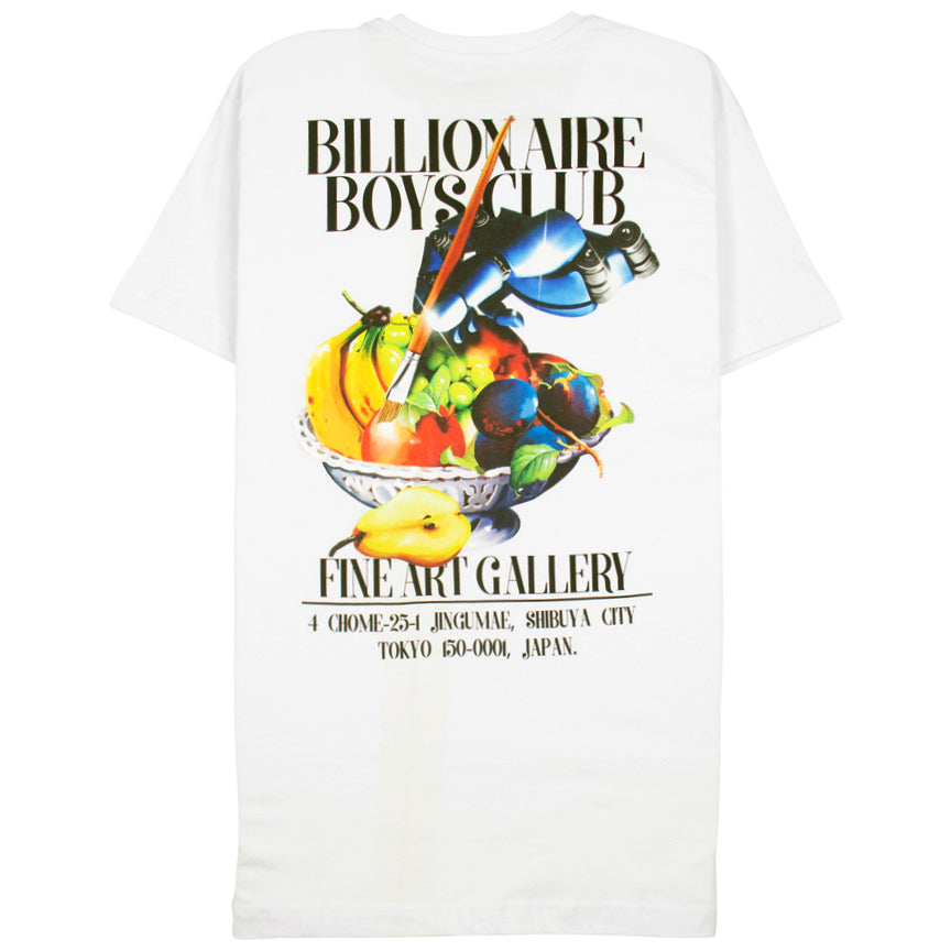Billionaire Boys Club Gallery White T-Shirt