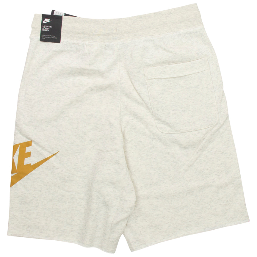 Nike Sportswear Light Grey Alumni Fleece Shorts