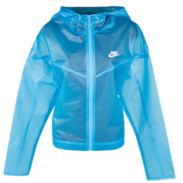 Nike Women's Windrunner Transparent Blue Jacket