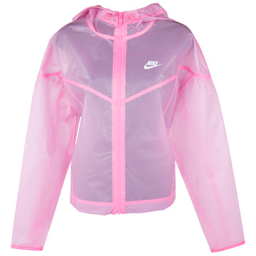 Nike Women's Windrunner Transparent Pink Jacket