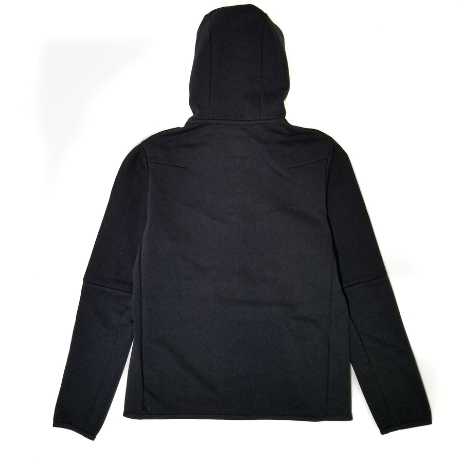 Nike Sportswear Tech Fleece Full Zip Black Hoodie