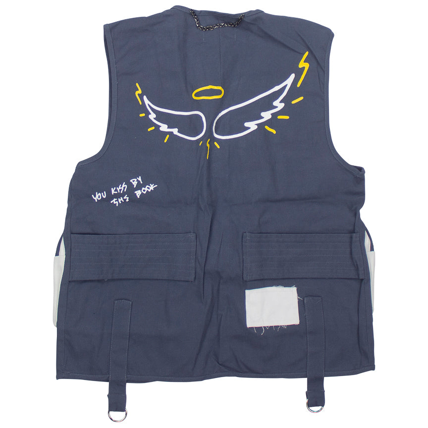 Lifted Anchors Warwick Utility Blue Vest