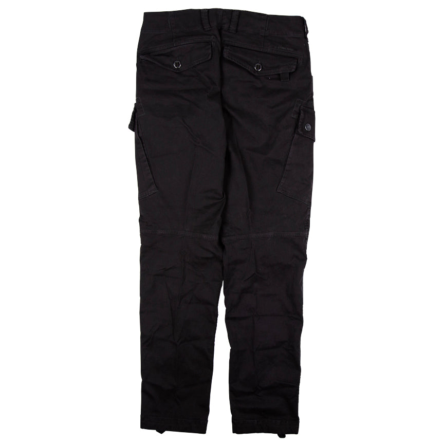 G-Star Raw Roxic Straight Tapered Black Cargo Pants