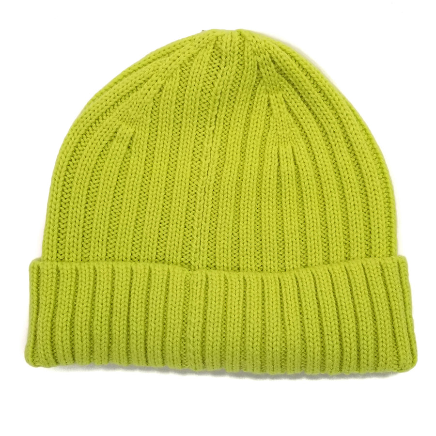 Cult Of Individuality Neon Green Knit Hat